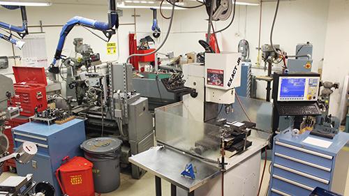 Machine shop lab